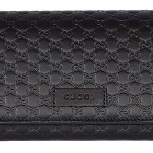 Gucci Bags - Guccissima Micro GG Large Continental Wallet